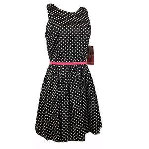 EMERALD SUNDAE Polka Dot Dress Retro Rockabilly